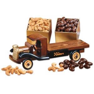 1930 Flat Bed Truck with Extra Fancy Jumbo Cashews imagerjs