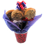 Hot Lips Gourmet Cookie Bouquet