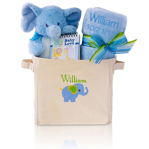 Welcome Home Baby Gift Tote | All About Gifts & Baskets