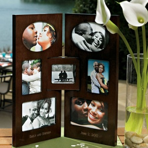 Personalized 2 Panel Photo Frame imagerjs