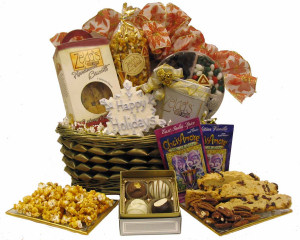 Celebration Gift Basket - Kosher data-pin-no-hover=