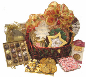 Kosher Holiday Deluxe Gift Basket data-pin-no-hover=