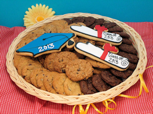Graduation Congrats Cookie Basket imagerjs