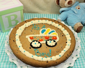 Baby Boy or Girl Cookie Cake imagerjs