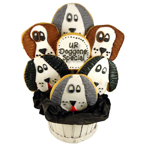 You're Doggone Special Sugar Cookie Bouquet imagerjs