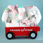 Deluxe Girl's Welcome Wagon Gift Set