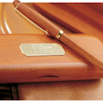 Personalized Rosewood Pen and Case