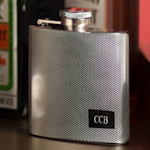 Textured Stainless Steel Flask
