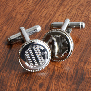 Silver Plated Cufflinks imagerjs
