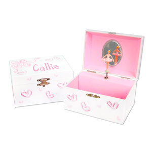 Personalized Ballerina Jewelry Box with Music imagerjs