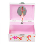 Personalized Ballerina Jewelry Box with Music