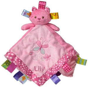 Personalized Kandy Kitty Taggies Security Blanket imagerjs