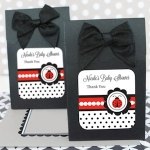 Ladybug Baby Shower Favor Boxes (Set of 12)