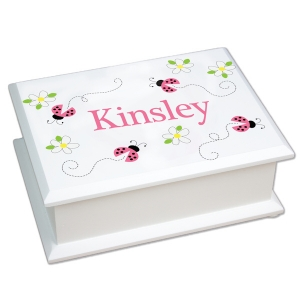Personalized Rectangular Jewelry Box imagerjs