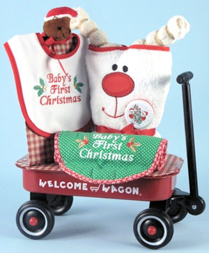 Christmas Welcome Baby Wagon imagerjs