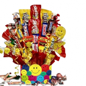 All Smiles Candy Bouquet image