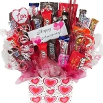 Happy Anniversary Candy Bouquet