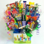 Birthday Wishes Candy Bouquet Gift