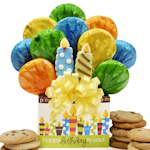Birthday Candles Cookie Tote Box