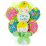 Easter Eggs Cookie Bouquet