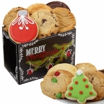 Vintage Merry Christmas Cookie Box