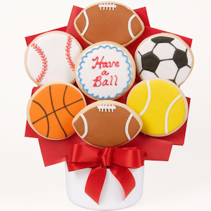Have A Ball Gourmet Cookie Bouquet image