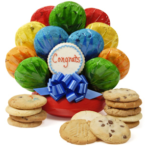 Congratulations Cookie Bouquet image