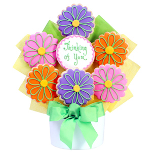 Thinking Of You Cookie Bouquet image
