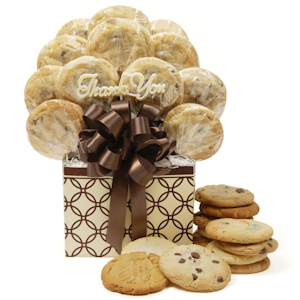 Decorative Rings Thank You Cookie Bouquet image
