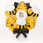 Bee Mine Iced Bouquet of Cookies