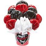 Valentine's Day Blooming Cookie Bouquet