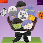 Halloween Monsters Cookie Bouquet