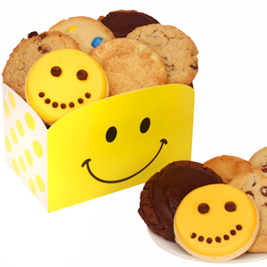 Happy Faces Gourmet Cookie Box image