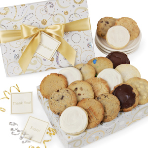 Dazzling Swirls Gourmet Cookie Box image