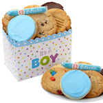 Baby Boy Themed Gourmet Cookie Box