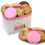Baby Girl Themed Gourmet Cookie Box