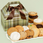Perfectly Plaid Gourmet Cookie Gift Box