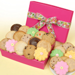 Pretty in Pink Gourmet Cookie Box