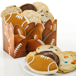 Football Themed Gourmet Cookie Box