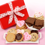 Valentine Cookies & Brownies Gift Box