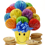 Smiling Cookie Bouquet