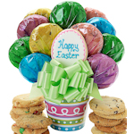 Easter Egg Cookie Bouquet