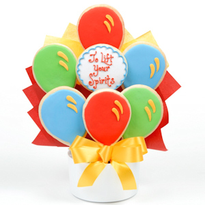 Lift Your Spirits Gourmet Cookie Bouquet image