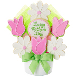 Happy Mother's Day Flower Cookie Bouquet