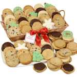 Party Size Christmas Cookie Basket