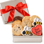 'Bee Mine' Valentine's Day Cookie Tin