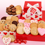 Deluxe Valentine's Day Heart Bakery Trio