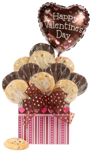 Pink and Chocolate Valentine Tote image