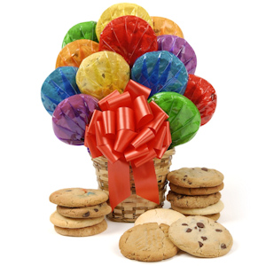 Happy Day Edible Cookie Arrangement image