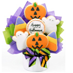 Happy Halloween Sugar Cookie Arrangement